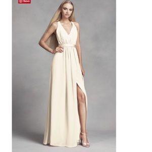 WHITE by Ver Wang bridesmaid dress